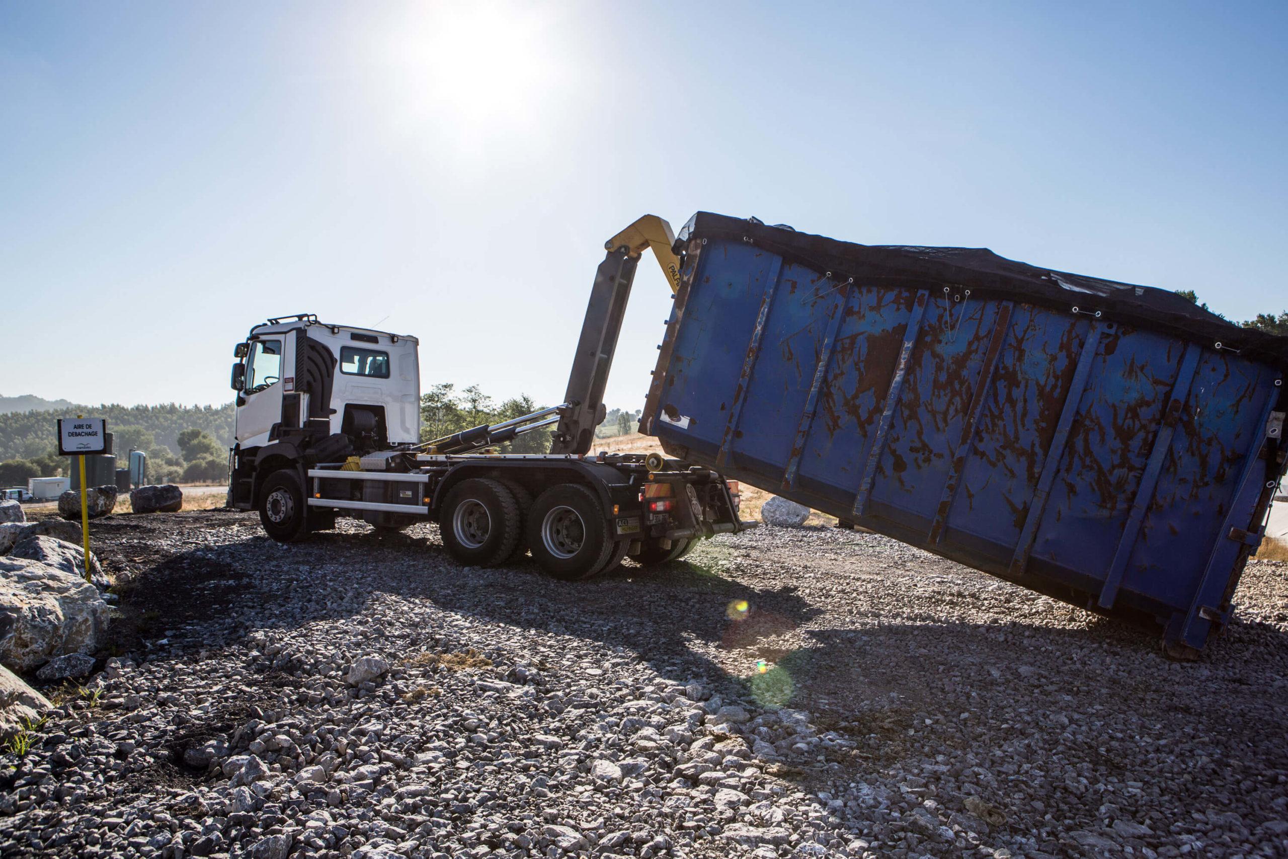 Le transport et la logistique déchets au Syndicat Bil Ta Garbi